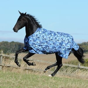 Bucas Freedom Turnout Light-Blue Camouflage