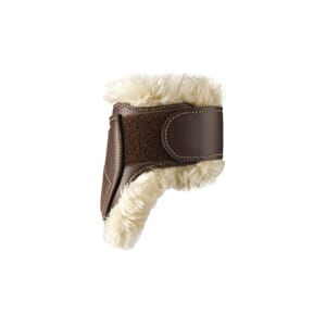 Kentucky Sheepskin Leather Fetlock Boots Velcro